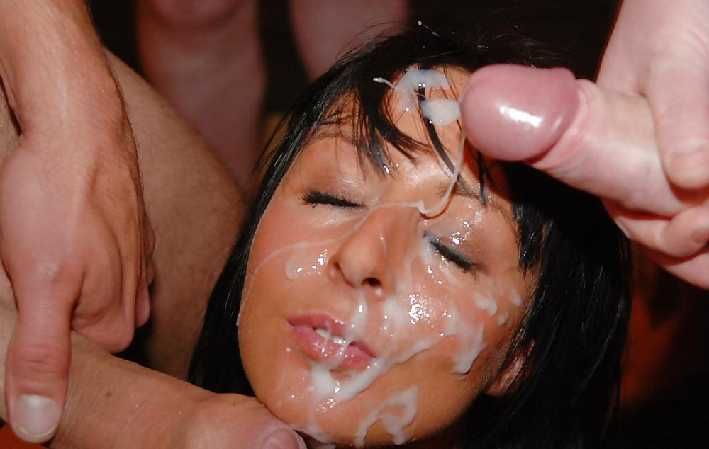 Lyndsay recommends Sucking through cumshot compilation